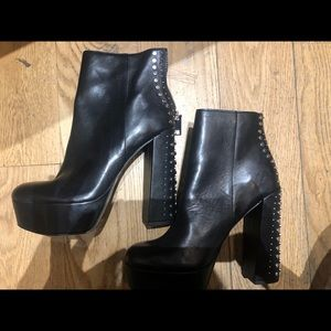 Dolce vita studded booties